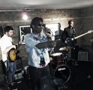 Marvin Live performance at Kahaila Cafe, Brick Lane